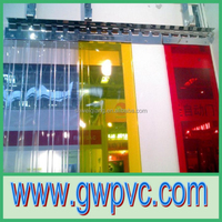 Ribbed and Clear PVC Strip Curtains