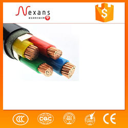 .High Quality 5x4mm2 XLPE Insulated China Electrical Power Cable