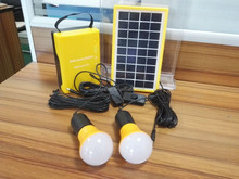 3w 6v led solar power home lighting system with lamp