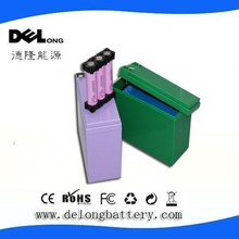 china dry cell rechargeable ultra thin li ion battery icr 16850 pack for 12V 8ah