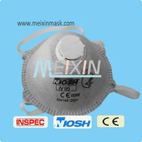 Air pollution N95 active carbon dust mask