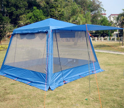 Outdoor family camping tent sun shade canopy tent mesh net tent