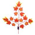 Ysl0005 de alta qualidade 3-branch China atacado folha de bordo artificial de bordo decorativa folhas
