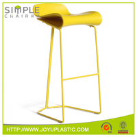 2015 hot promotional modern plastic sex bar chair