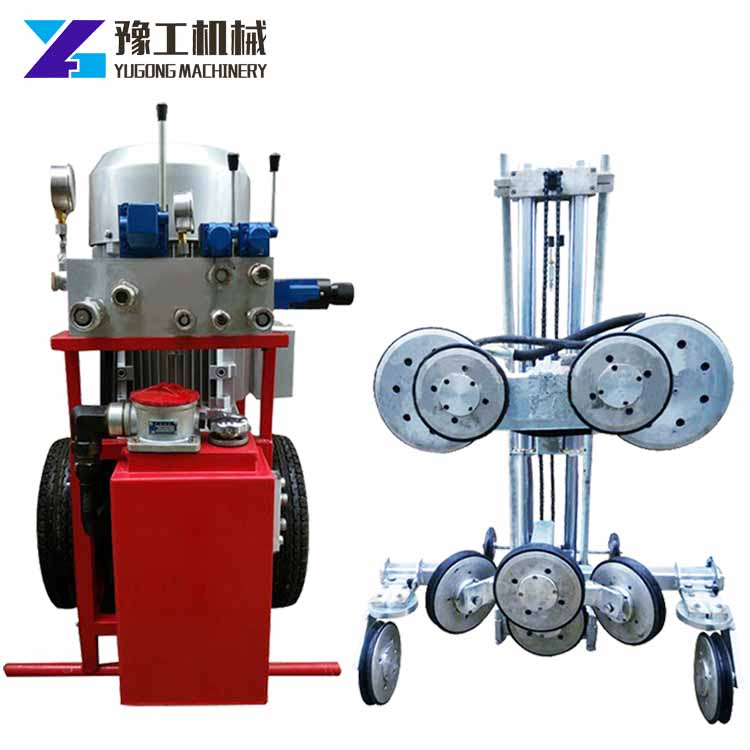 Model Yg-25 Diamond Wire Saw Machine For Cutting Stones Concrete ...