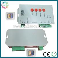 DC5V-DC24V digital sd card led remote controller, t1000s led dimmer