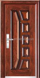 interior lacquer metal door inserts curtains