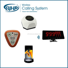 Convenient waiter calling system,wireless calling system with LED display