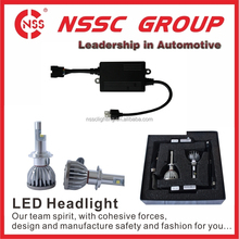 NSSC micro mini moving Hi Lo auto headlight restoration kit 9-32V led conversion kit brightness H4 headlight