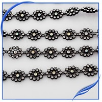10yards/roll rhinestone plastic cup chain