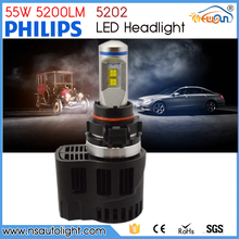 5202 Motorcycles LED Headlights 55w 5200lm LED Head Light Use For All Vehicles