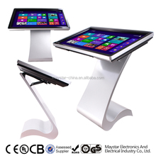 Low price 47 inch free stand 3g wifi full hd advertising touch screen panel