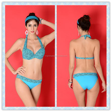TQSKK Factory price Blue color sexy girls swimwear
