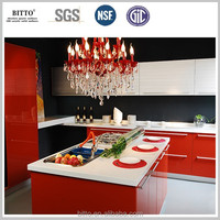 super white quartz countertop kitchen island top bar top in quartz stone