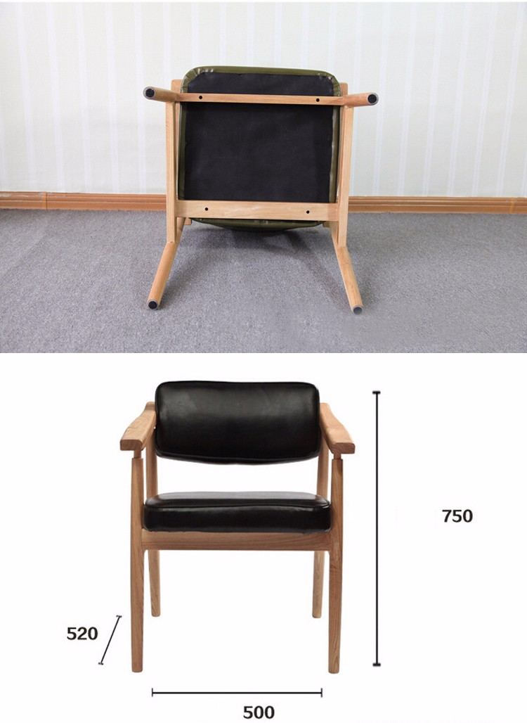 nordique minimaliste fauteuil restaurant d contract dossier en bois manger canap chaise. Black Bedroom Furniture Sets. Home Design Ideas