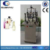 GY-XSB pneumatic perfume vacuum filling machine with 4 heads