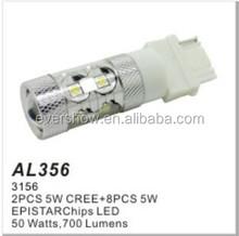 Factory auto tuning bulb auto led light 3156 10LED 50W high power (AL356)