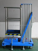 Manual high pole elevator mobile vertical lift table