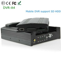 2016 New Product Alibaba Mobile Recorder SD HDD 4CH Car Blackbox DVR