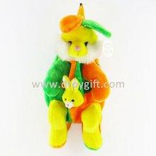 50 cm plush rabbit kids animal backpack