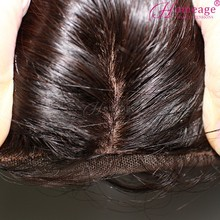 Homeage silk invisible part closure malaysian virgin silk top lace hair silk top closure