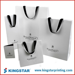 personalized customized wholesale paper shopping bag