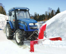 Europe quality! snow blower rubber track tractor front mounted snow blower