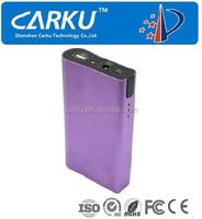 manufacturer 6000mAh portable battery power bank, mobile power bank 6000mah