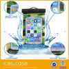 23.5*12.3CM PVC portable outdoor transparent Waterproof cell phone/camera bag/case