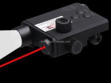LF-2R LED Weapon Flashlight with Red Laser Sight & remote switch