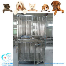 Pet Double Layer Stainless Steel Rabbit Cage