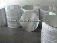 aluminio círculo