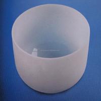 2015 quartz Fused Silica Crucible,Semi-transparent sintered glass crucible For Laboratory Testing
