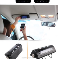 High Quality Factory Price Top Sale Car Vehicle Mounted Bluetooth Handsfree Car Kit Speakerphone For iPhone Samsung