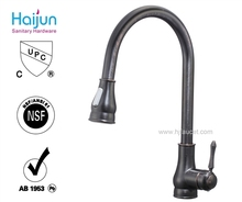 Single Handle Brass Kitchen Sink Faucet with WaterMark (82H17-ORB-N)