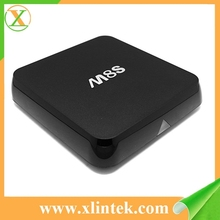 Factory price M8S Smart tv Android 4.4 tv box mini pc player video preinstall kodi 14.2 with full loaded