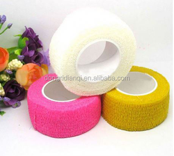 Cohesive elastic bandage for nail salon