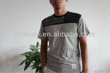 Nuevo 2013 t- shirt fábrica del oem fabricación de ropa de hombre ropa al por mayor de prendas de vestir ropa
