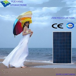 Chinese 250 Watt Photovoltaic Solar Panels for Sale