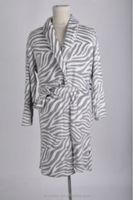 ladies 100% polyester coral fleece robe