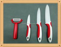 Ceramic utility knife, fruit knife, paring knife set best quality cook at home kitchen helper