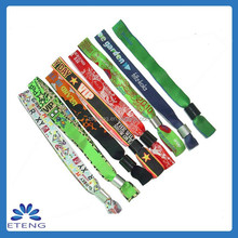 Factory Direct Supply Personalized Woven Bracelets promotional gift