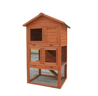 2016 hot sale wooden rabbit hutch
