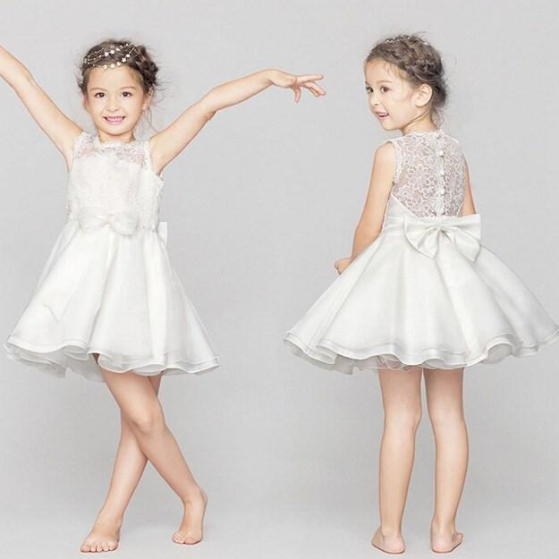 Best selling elegant western party wear dresses kids christmas party