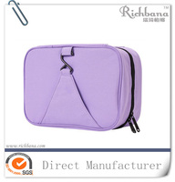 600D travel cosmetic toiletry bag