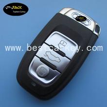 High quality 3 button car remote key 315mhz for audi key 8e0 837 220 q audi a4L q5 key