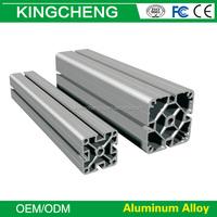 Anodized and powder aluminium profile sliding door 8 slot 3030A