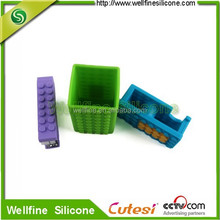 office stationery 3 sets silicone round block book sewer, pen holder, tape dispenser