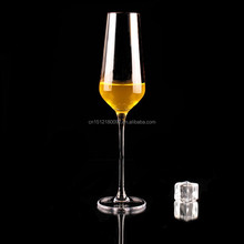 Indoor/outdoor champagne flutes digestif glass crystal champagne glass