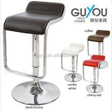 bar stool - ABS seat,chromed gas lift and base, height adjustable GY-1043